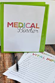 medical binder pic
