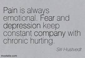 pain is always emotional quote