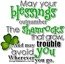 blessings st. paddys